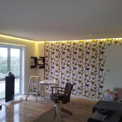 Home renovation - concealed LED strip lighting