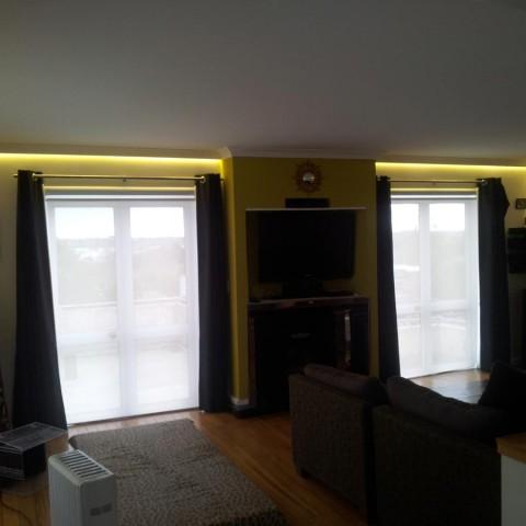 Home renovation - concealed LED strip lights