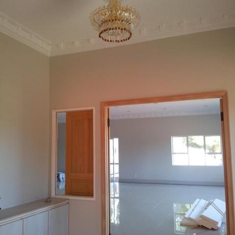Large home renovation - chandelier