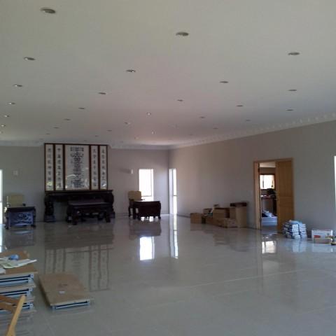 Large home renovation - downlighting
